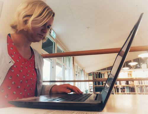 Stipendiaten Sara om Lärare skriver 2019