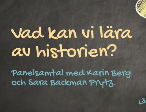 Paneldebatt: vad kan vi lära av historien?